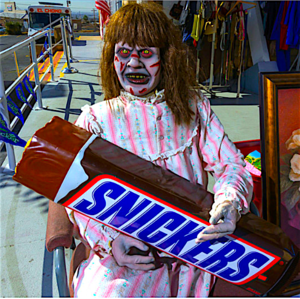 Regan Likes Candy!