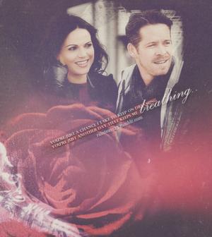 Regina and Robin ঘোমটা