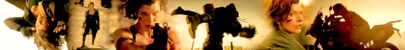 Resident Evil: The Final Chapter - Banner