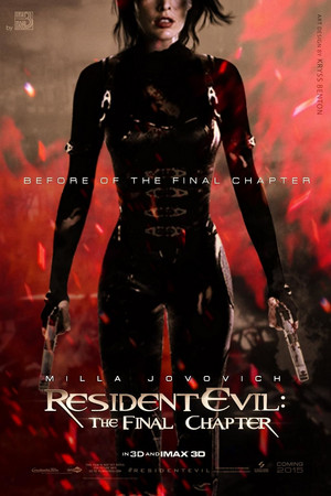 Resident Evil: The Final Chapter - fan Poster