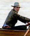 Robert on location in Oregon filming 'Damsel' - robert-pattinson photo