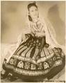 Romanian women traditional clothing dress  - romania photo