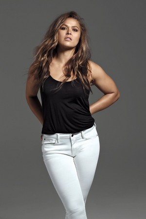 Ronda Rousey - Buffalo Jeans Photoshoot - Fall 2016