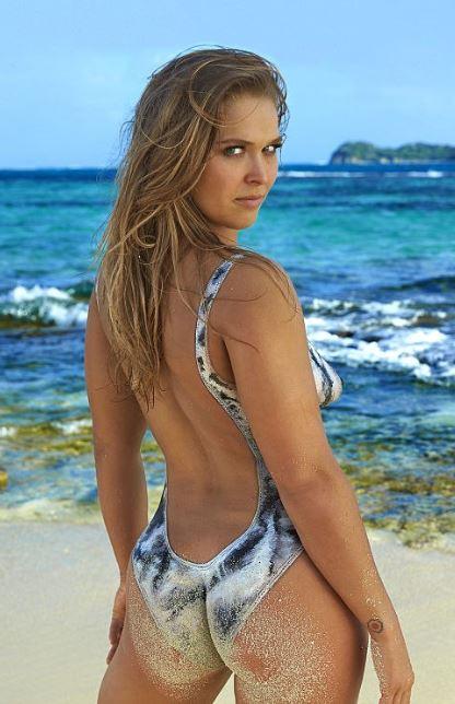 Ronda Rousey - Sports Illustrated đồ bơi, áo tắm Issue - 2016