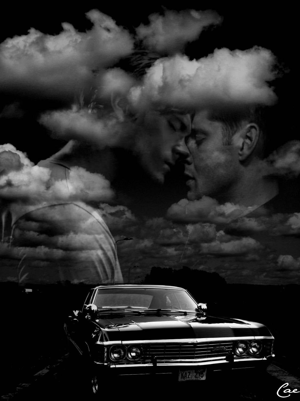 Sam/Dean Fanart - Clouds