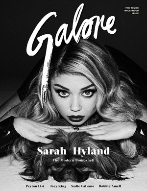 Sarah Hyland - Galore Magazine Cover - 2015