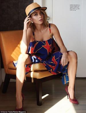 Sarah Hyland - Remix Magazine Photoshoot - 2015