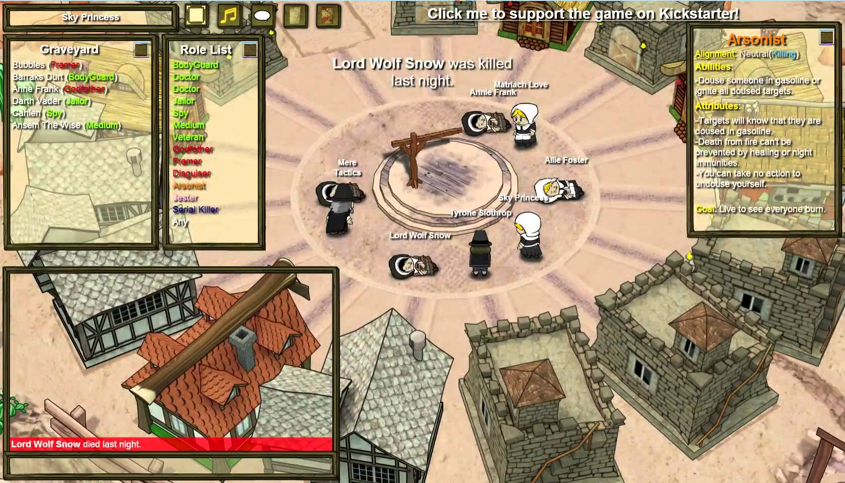 how to explain what town of salem is