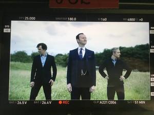 Sherlock - Series 4 - BTS