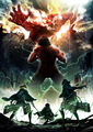 Shingeki no Kyojin [second season poster] - shingeki-no-kyojin-attack-on-titan photo