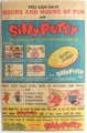 Silly Putty ad in old comic book