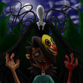 Slender madness Mal - total-drama-island fan art