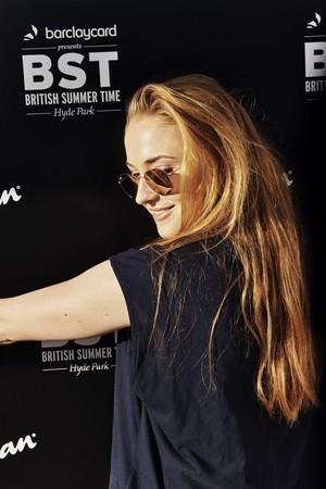 Sophie Turner at Barclaycard Presents British Summer Time Festival