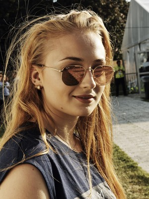 Sophie Turner at Barclaycard Presents British Summer Time Festival
