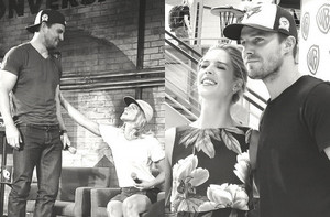 Stephen & Emily being too adorable for words at San Diego Comic Con 2016.