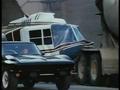 Stingray series pilot action still: '65 Vette vs. Chopper - the-80s photo