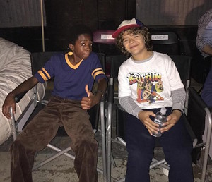 Stranger Things Season 1 Set foto's