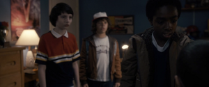 "Stranger Things ""The Weirdo on esdoorn-, esdoorn Street"" (1x02) Picture"