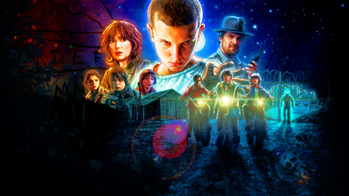 Stranger Things Обои possibly with a концерт called Stranger Things Обои