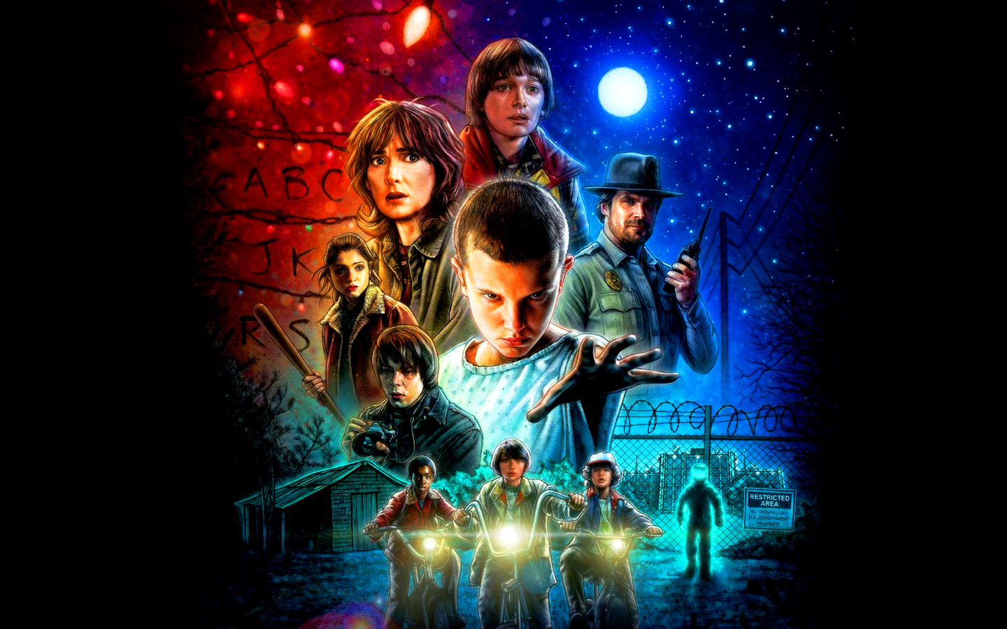 Stranger Things fondo de pantalla