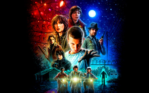 Stranger Things 壁紙 with a コンサート entitled Stranger Things 壁紙