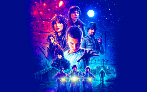 Stranger Things 壁紙 with a コンサート called Stranger Things 壁紙