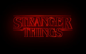 Stranger Things Logo Обои