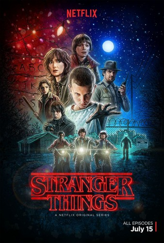 Stranger Things fond d'écran with animé entitled Stranger Things