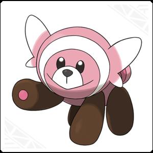 Stufful, the Flailing Pokemon.