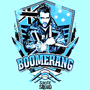 Suicide Squad Calendar - Boomerang