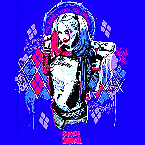 Suicide Squad Calendar - Harley