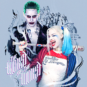 Suicide Squad wallpaper titled Suicide Squad Calendar - Joker and Harley