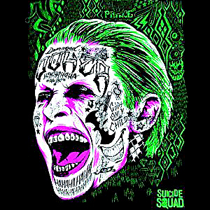 Suicide Squad 바탕화면 with a red cabbage entitled Suicide Squad Calendar - Joker