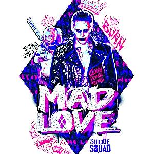 Suicide Squad Calendar - Mad Любовь