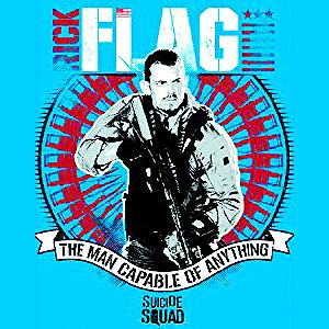 Suicide Squad Calendar - Rick Flag