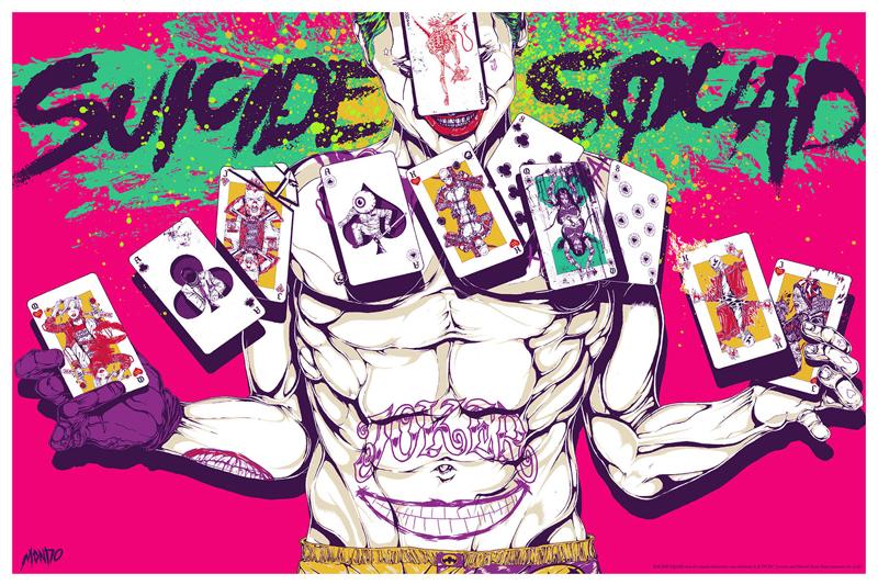 Suicide Squad - Mondo Poster