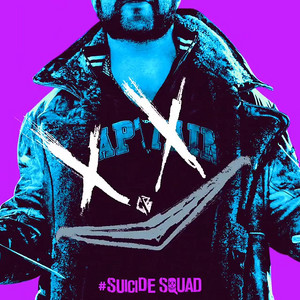 Suicide Squad - Neon Poster - Captain Boomerang