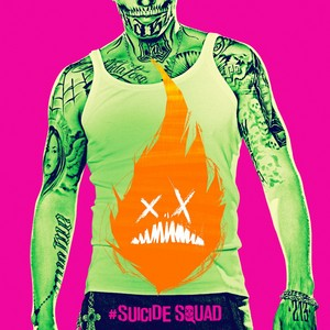 Suicide Squad - Neon Poster - Diablo