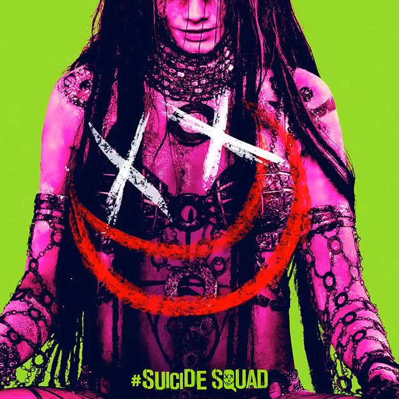 Suicide Squad - Neon Poster - Enchantress