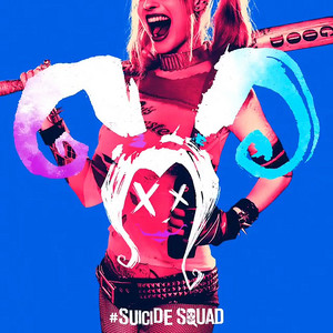 Suicide Squad - Neon Poster - Harley Quinn