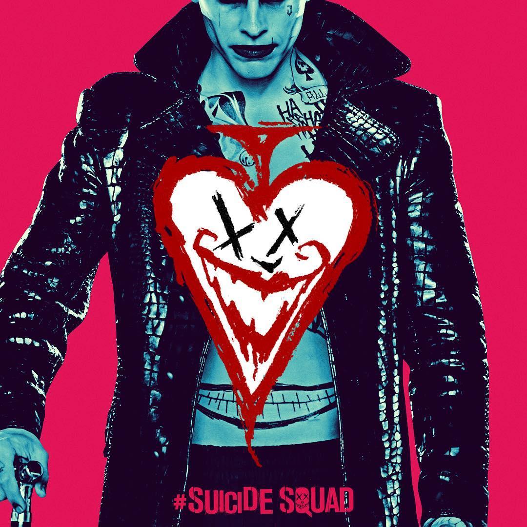Suicide Squad - Neon Poster - Joker