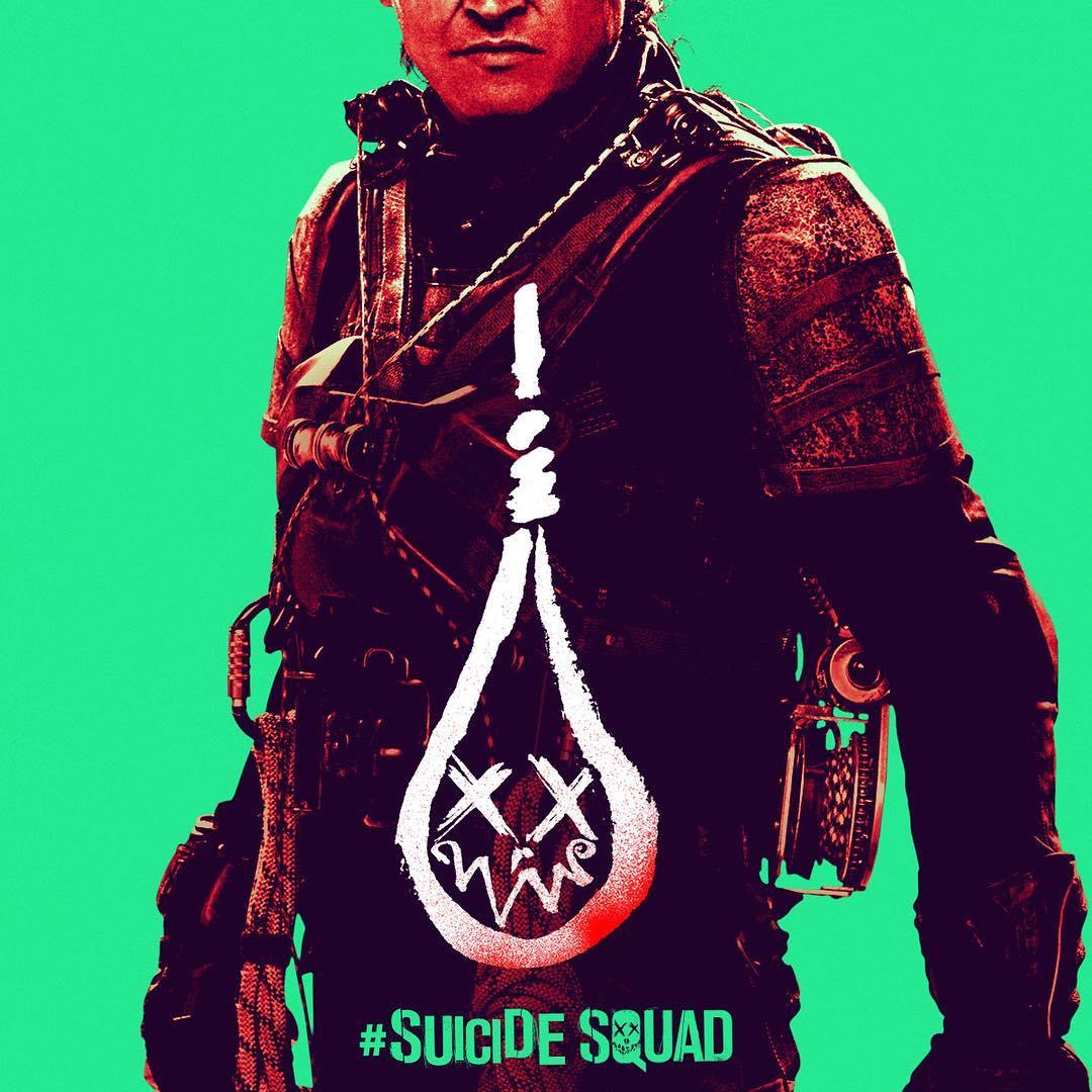 Suicide Squad - Neon Poster - Slipknot