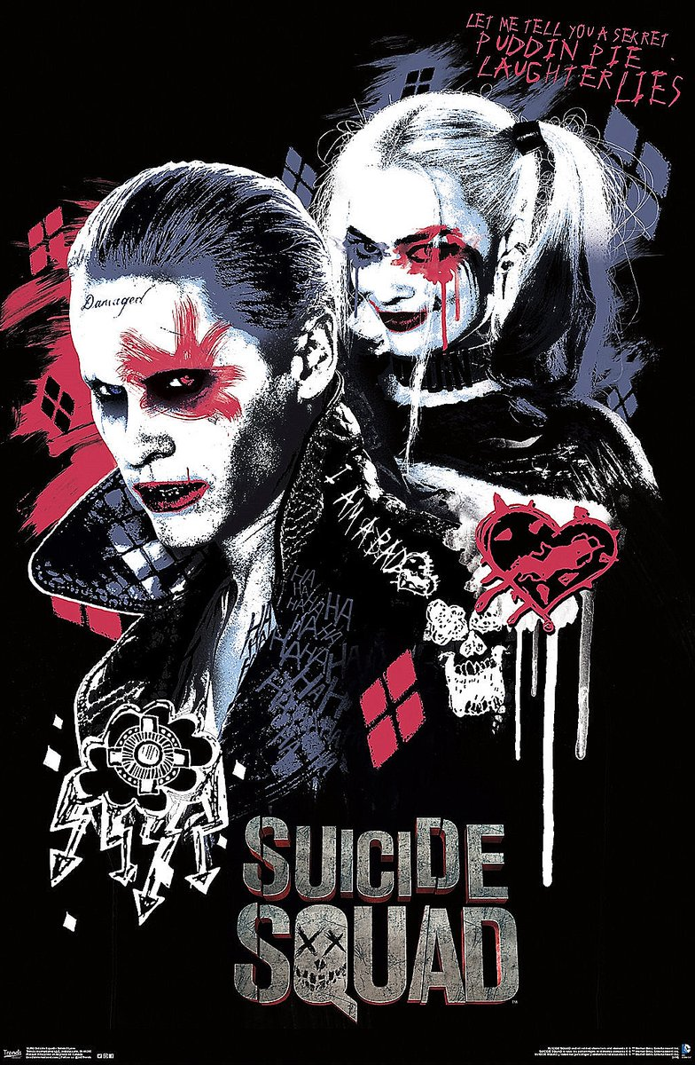 Harley Quinn Gambar Suicide Squad Poster Harley And The Joker Hd