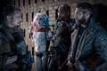 Suicide Squad Still - Rick Flag, Harley Quinn, Deadshot and Captain Boomerang