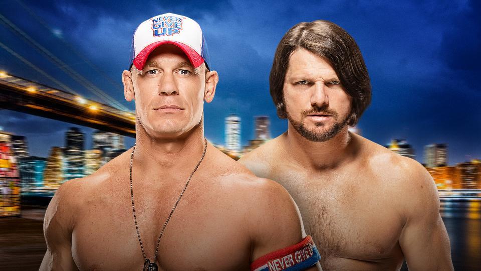 Summer Slam 2016: John Cena vs. AJ Styles