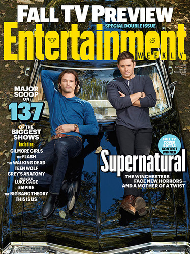 Supernatural wolpeyper containing anime titled Supernatural - EW Magazine Cover
