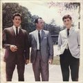 Sylvester Stallone (left) with father and brother