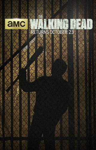ウォーキング・デッド 壁紙 with a chainlink fence, a holding cell, and a penal institution called TWD: Season 7 poster