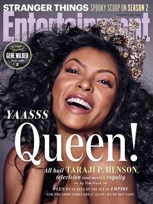 Taraji P. Henson - Entertainment Weekly Cover - September 2016