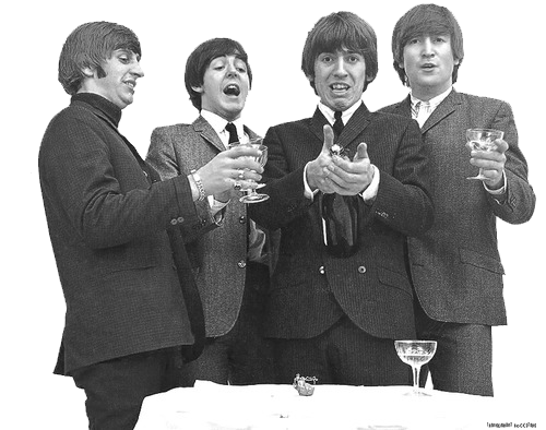 The Beatles Wallpaper Containing A Business Suit And Well Dressed Person